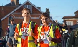 Volunteers at The Twilight Walk in Windsor 2016
