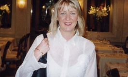 Peta-Jane Gath at a restaurant
