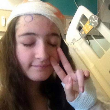 Teenager who felt 'weird' at a festival is diagnosed with