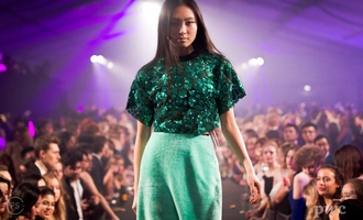 Students put on glittering fashion show to help defeat brain tumours