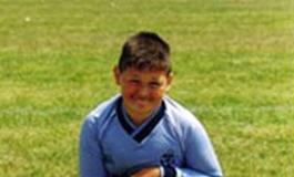 Bradley Chiltern playing football