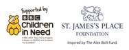 Children in Need and St James's Place Foundation logo
