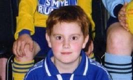William Doolin in his football fit