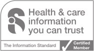 logo for the information standard certification