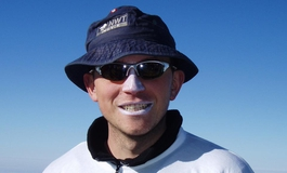Graeme Turner on a mountain hike