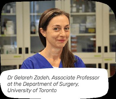 Dr Gelareh Zadeh